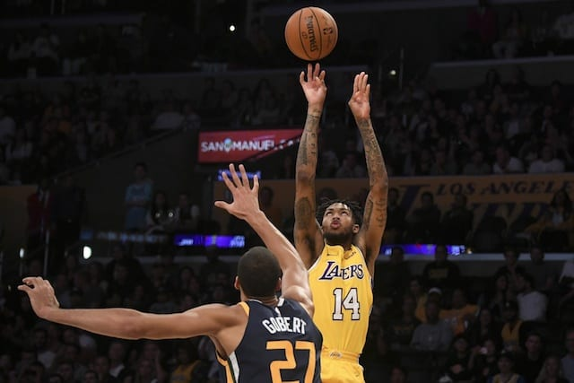 Lakers Vs. Jazz Preview: L.a. Makes Quick Trip To Utah To Rebound Following Tough Loss
