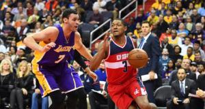 Larry Nance Jr. Bradley Beal Lakers Wizards