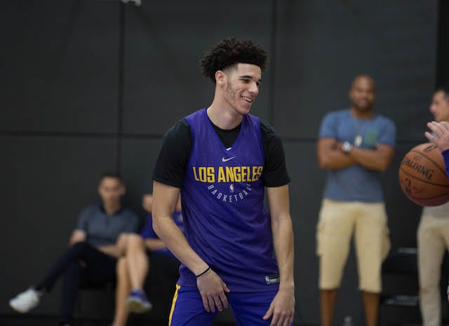 Lakers Practice Notes & Video: Lonzo Ball's Early Leadership Signs