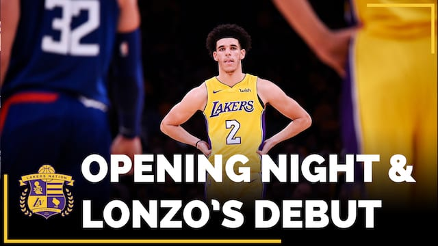 Los Angeles Lakers Vs. Clippers Season Opener (videos)