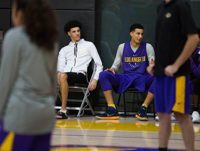 Lakers-practice-lonzo-ball-kyle-kuzma-5034