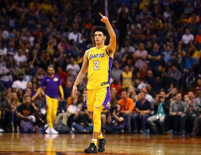 Lakers News  Lonzo Ball Says He Was  Ready To Bounce Back  After Rough  Opening Night 7c6d8cc51