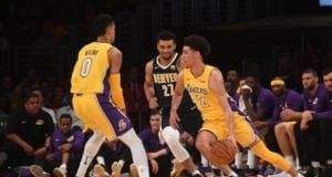 Lonzo Ball, Kyle Kuzma Lakers