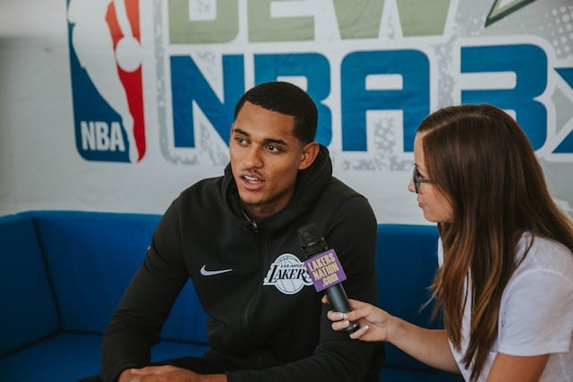 Jordan Clarkson Interview: Lonzo Ball, Magic, Season Goals (video)