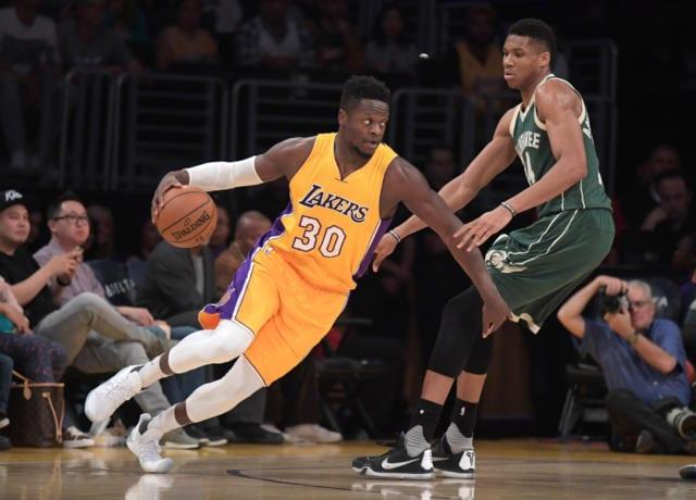 Julius Randle Giannis Antetokounmpo Lakers Bucks