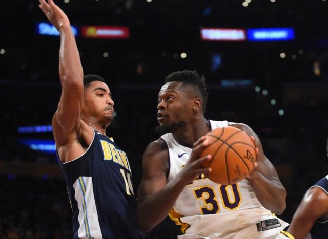 Lakers News: Luke Walton Has High Praise For Julius Randle Following Performance Vs. Nuggets
