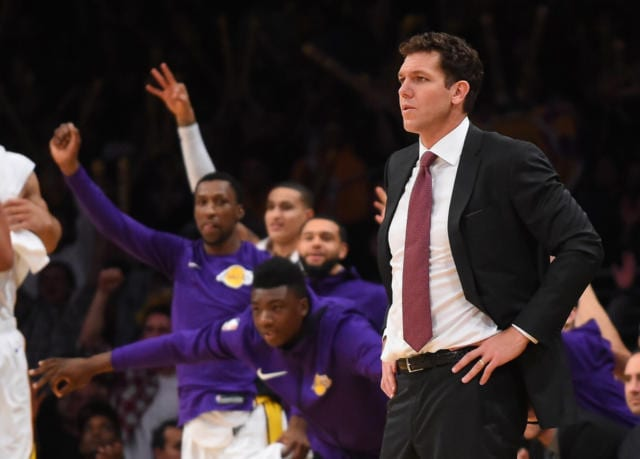 Lakers News: Luke Walton Pleased With Team's Progress Through 19 Games