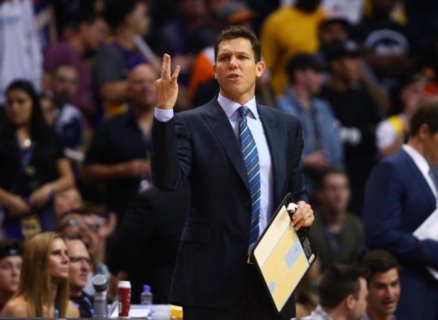 Luke Walton Lakers