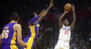 Andrew Bogut, Kentavious Caldwell-Pope Lakers Clippers