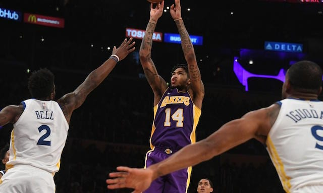 Brandon Ingram Lakers Warriors