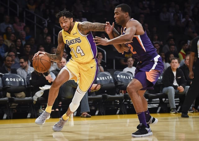 Brandon Ingram, Lakers, Suns