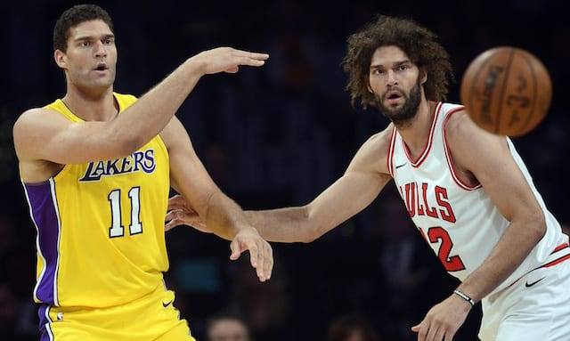 meet 0780b cede3 Lakers News: Brook And Robin Lopez Remain Unchanged By NBA ...