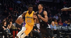 Wesley Johnson Julius Randle Lakers Clippers