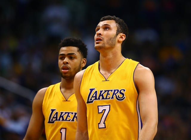 Lakers News: Larry Nance Jr. Discusses D'angelo Russell Returning To Staples Center For First Time