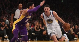 Josh Hart, Klay Thompson, Lakers, Warriors