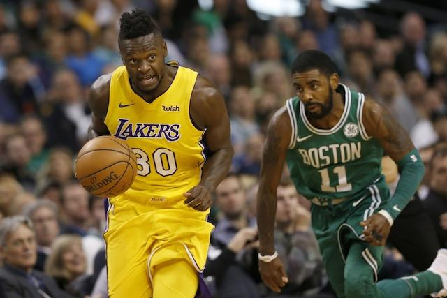 Julius Randle, Kyrie Irving, Lakers, Celtics