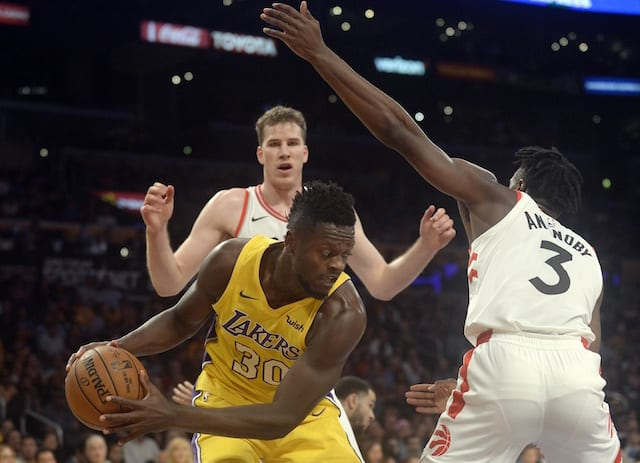 Lakers News: Luke Walton Comments On Julius Randle In The Backup Center Role