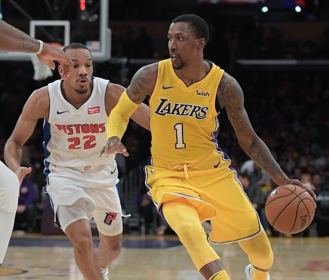 Lakers News: Kentavious Caldwell-pope Says It Was 'fun' To Beat The Pistons, His Former Team