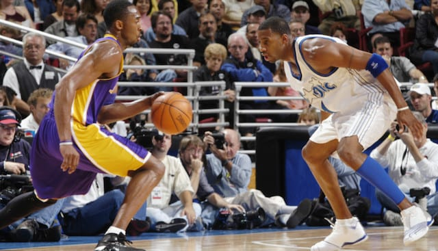 This Day In Lakers History: Kobe Bryant, Tracy Mcgracy Go Toe-to-toe In Scoring Duel