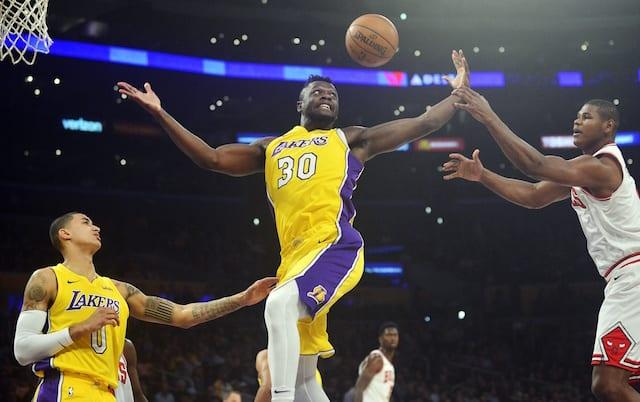 Kyle Kuzma, Julius Randle Lakers