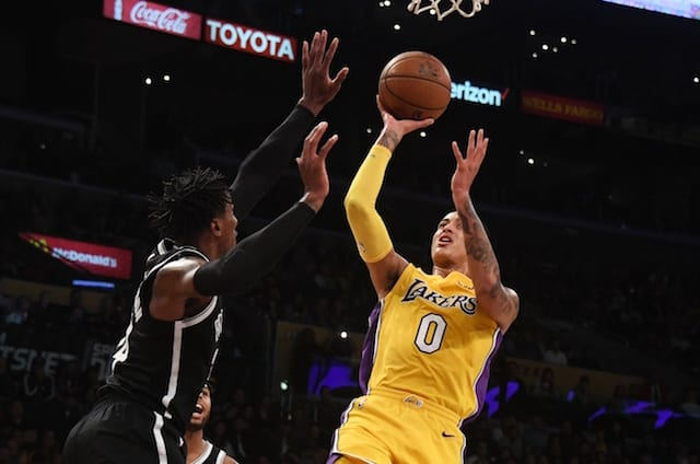 Lakers News: Luke Walton Explains Why He Started Kyle Kuzma At Power Forward