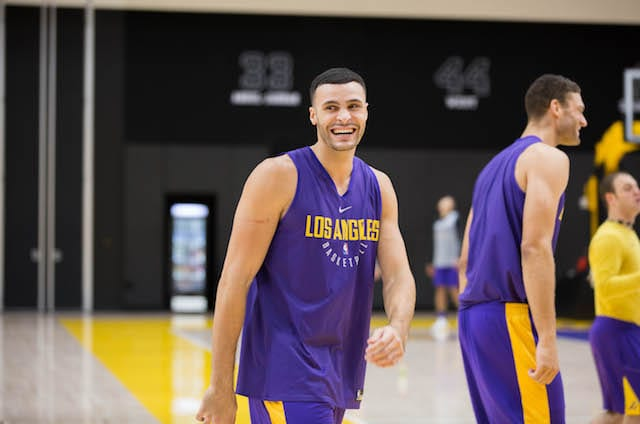 LAKERS PRACTICE 1101 - LARRY NANCE-8831