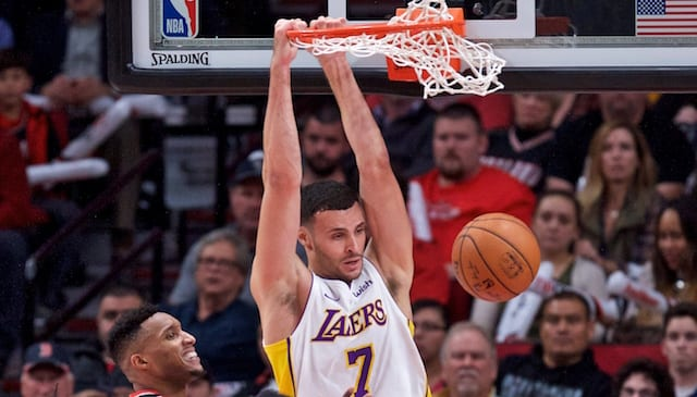 Lakers News: Larry Nance Jr. Jokes About Potentially Dunking On Nick Young