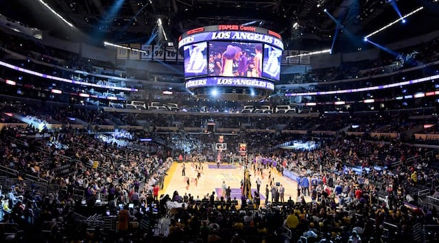 Art Of Choosing The Best Seats At Staples Center For Lakers Game