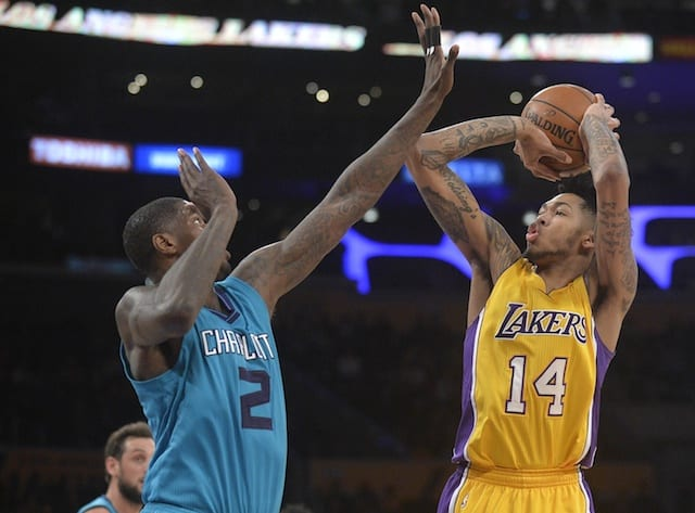 Brandon Ingram, Marvin Williams, Lakers