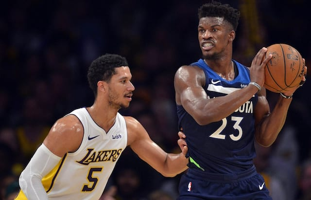 Jimmy Butler reportedly has requested a trade out of Minnesota