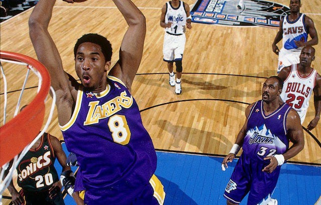 Lakers Video Kobe Bryant Pushes Players To Use NBA All-Star