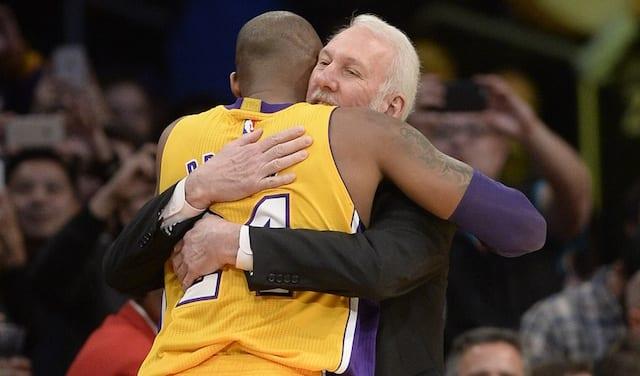 Kobe Bryant, Gregg Popovich, Lakers, Spurs