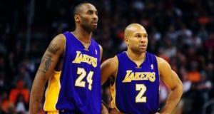 Kobe Bryant Derek Fisher Lakers