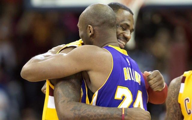 Kobe Bryant, LeBron James, Lakers, Cavaliers