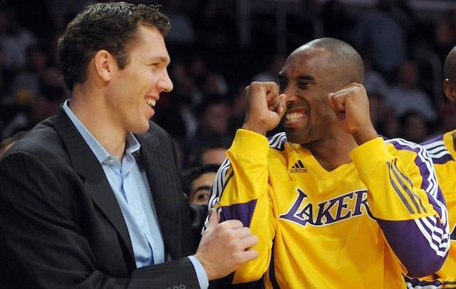 Kobe Bryant, Luke Walton, Lakers