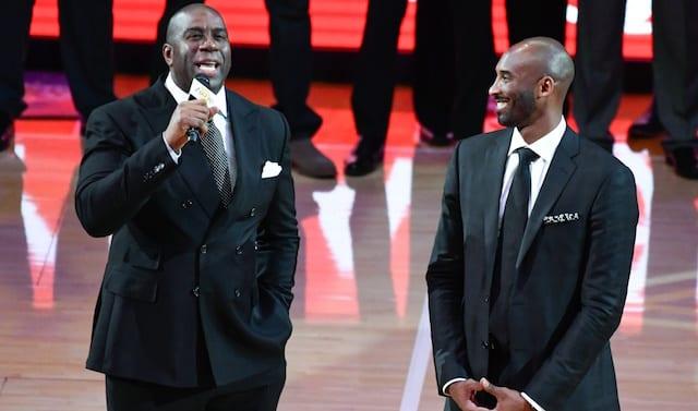 Kobe Bryant, Magic Johnson, Lakers