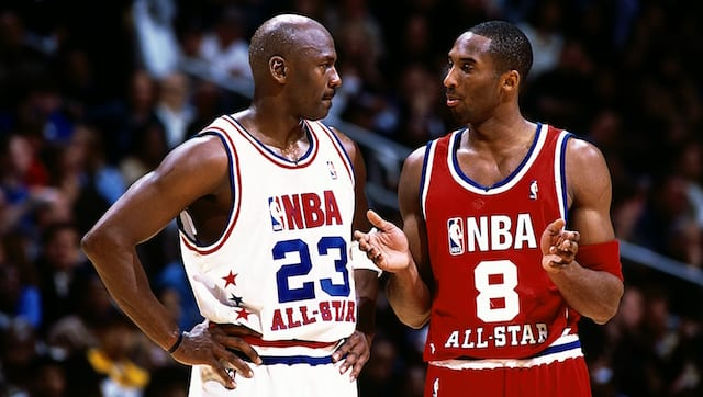 Kobe Bryant, Michael Jordan, Lakers, Wizards
