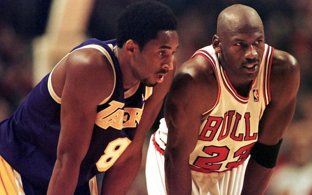 Kobe Bryant, Michael Jordan, Lakers