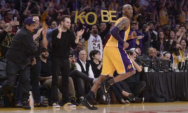 b930b6274 Lakers Tickets For Kobe Bryant Jersey Retirement Game See Decrease In  Listing Price. By Matthew Moreno -. 12 18 2017