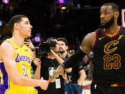 Lonzo Ball, LeBron James, Lakers