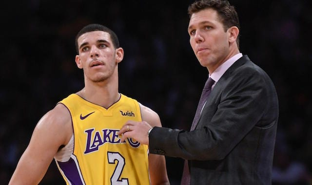 Lonzo Ball, Luke Walton Lakers