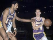 Wilt Chamberlain, Jerry West, Lakers