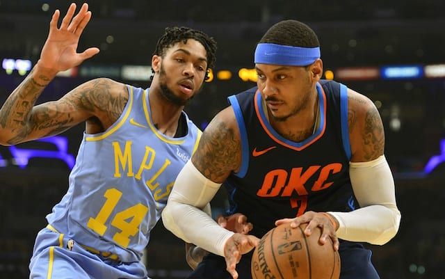 b9f0c52e779 NBA Free Agency Rumors  Lakers Among Teams Interested In Carmelo Anthony