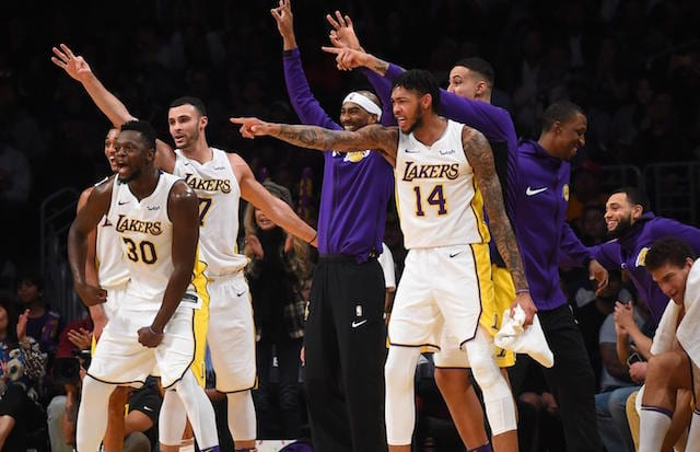 The Case For Keeping Lakers Roster Together At NBA Trade Deadline