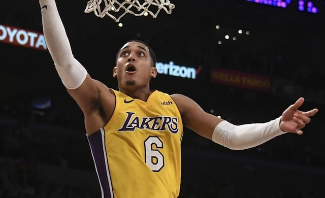 Jordan Clarkson, Los Angeles Lakers