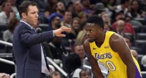 Julius Randle, Luke Walton, Lakers
