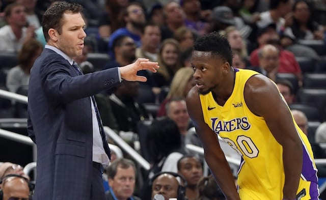 Julius Randle, Luke Walton, Lakers