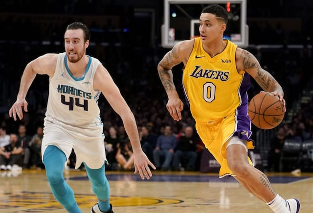 60f1e5773 Lakers News  Kyle Kuzma Wants To Become  One Of The Greatest Players ...