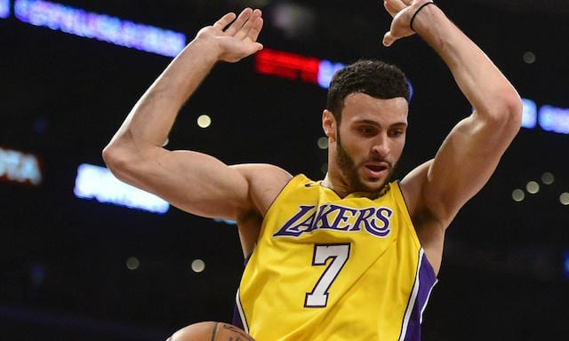 Larry Nance Jr, Lakers