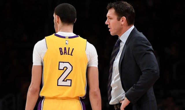 Lonzo Ball, Luke Walton, Lakers